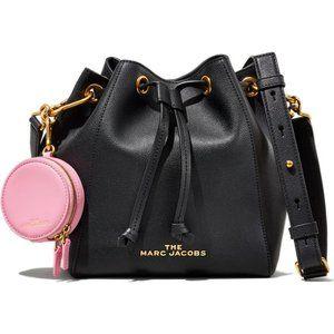 THE MARC JACOBS Leather Crossbody Bucket Bag